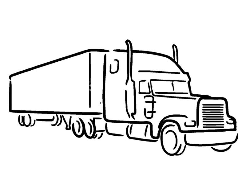 Volvo Truck Clipart.