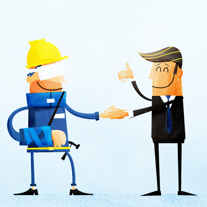 Workers comp clipart.