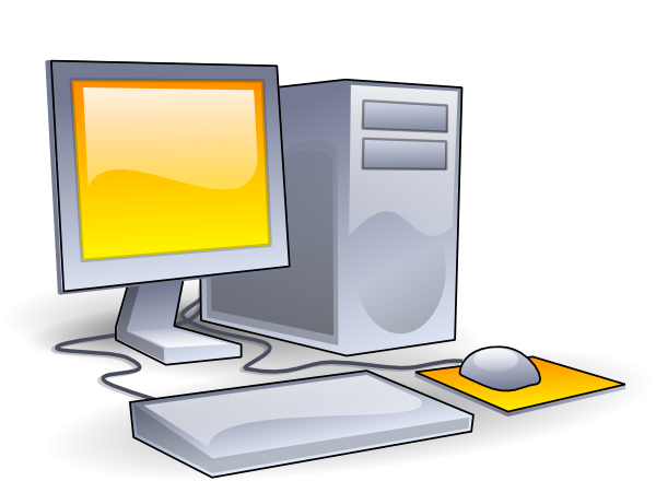 Desktop clipart art.