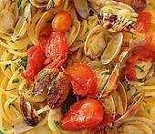 Pictures of Spaghetti alle vongole veraci.
