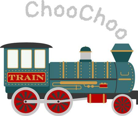 Un Train Clipart.