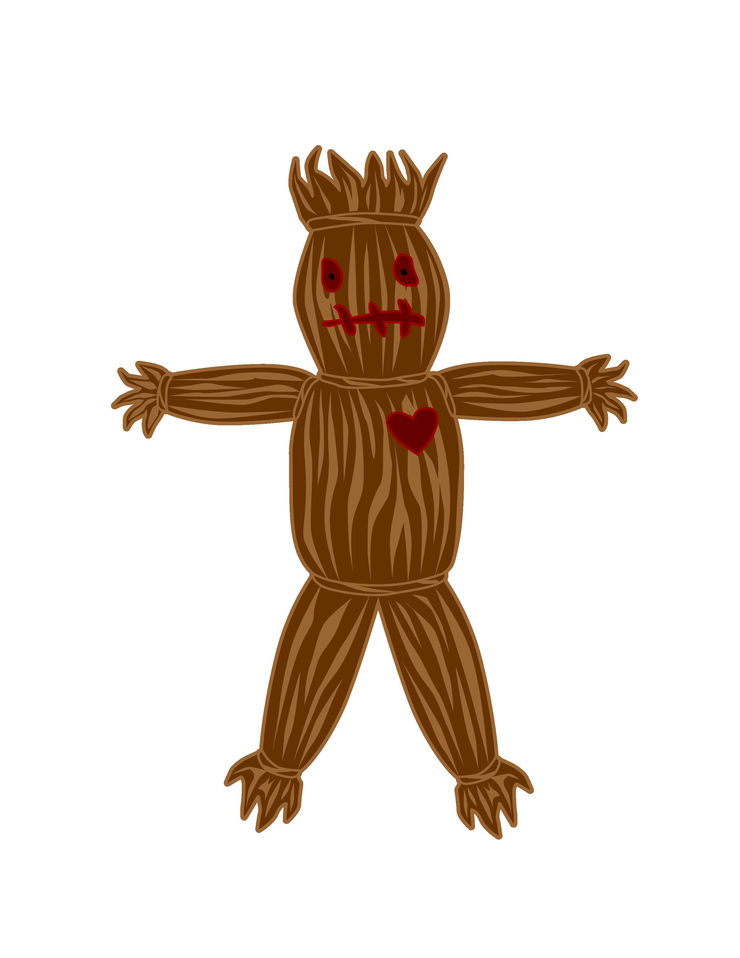 Voodoo Doll Clip Art.