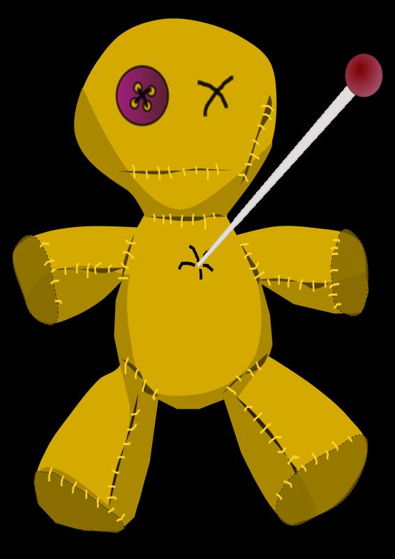 Free Voodoo Doll Clip Art.