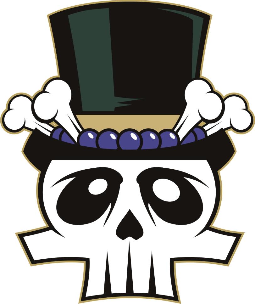 Voodoo skull clipart.
