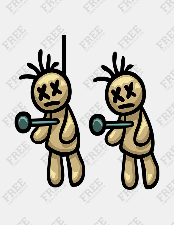 Free Graphic] Voodoo Doll.
