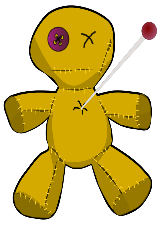 Free Clipart: Voodoo doll.