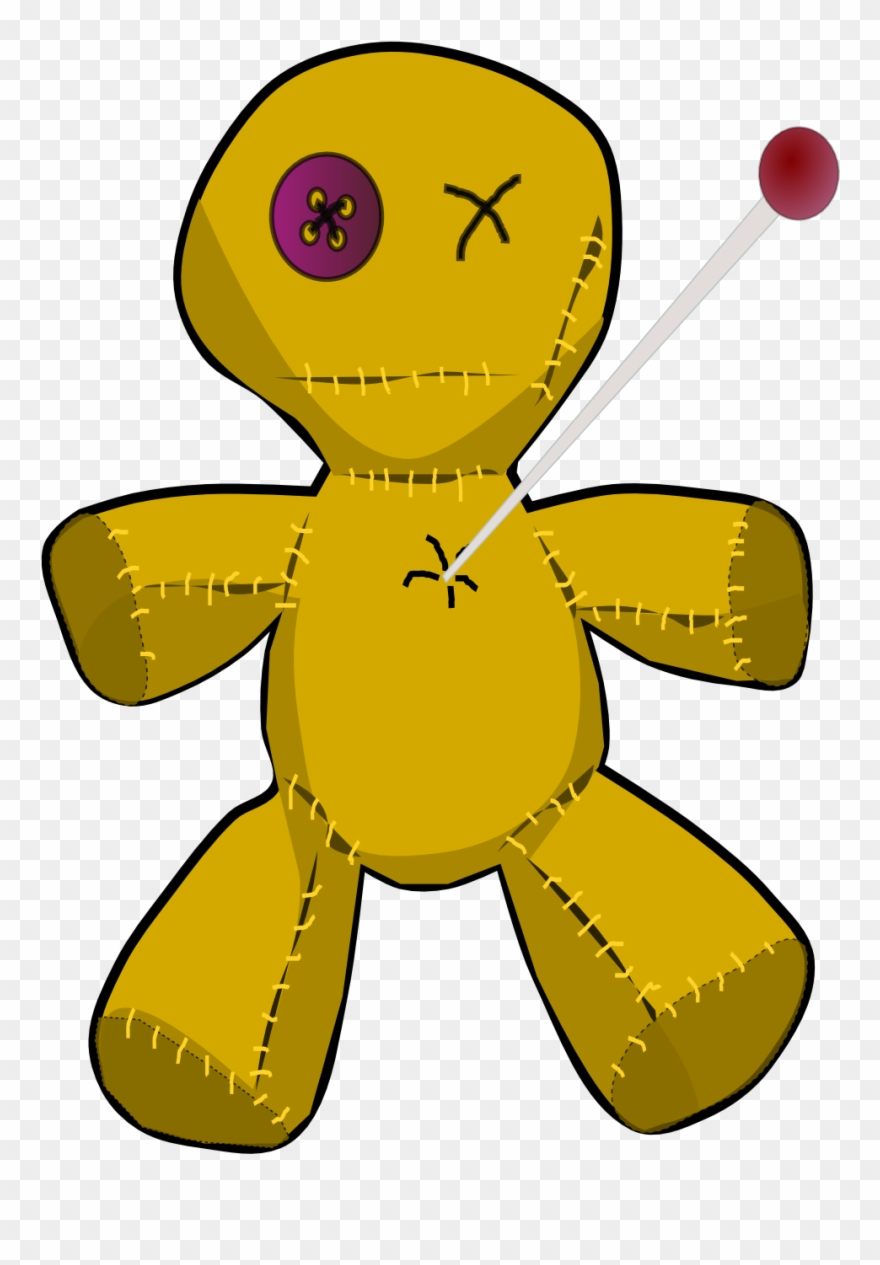 Voodoo Doll Coloring Book Colouring 555px.