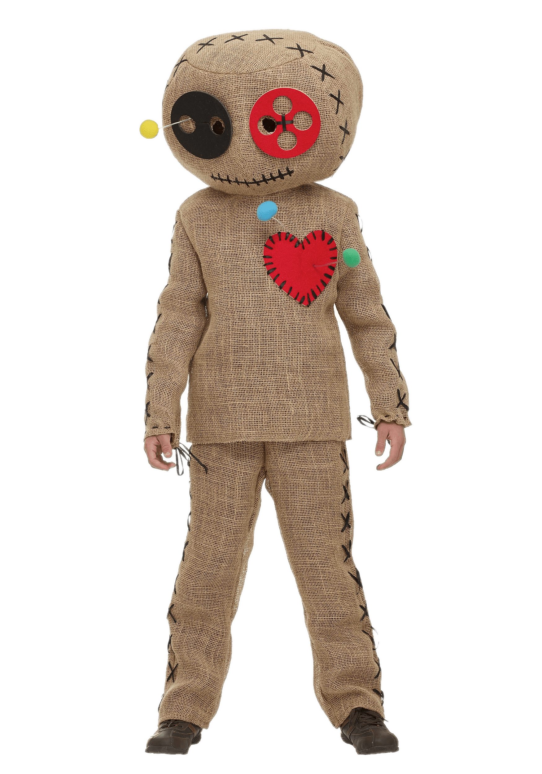 Voodoo Doll Costume transparent PNG.