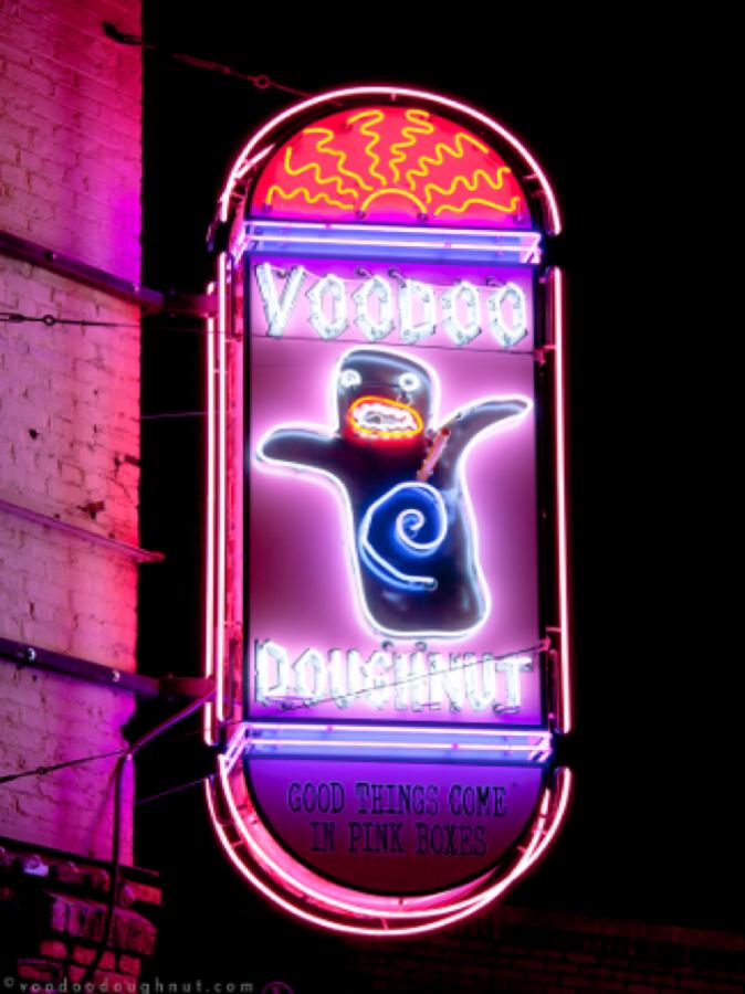 Voodoo Doughnuts.
