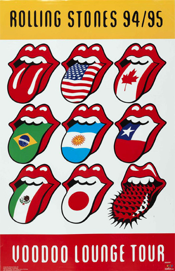 Five Decades of The Tongue and Lips.