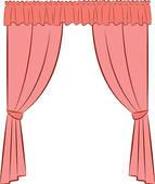 Curtain Clip Art.