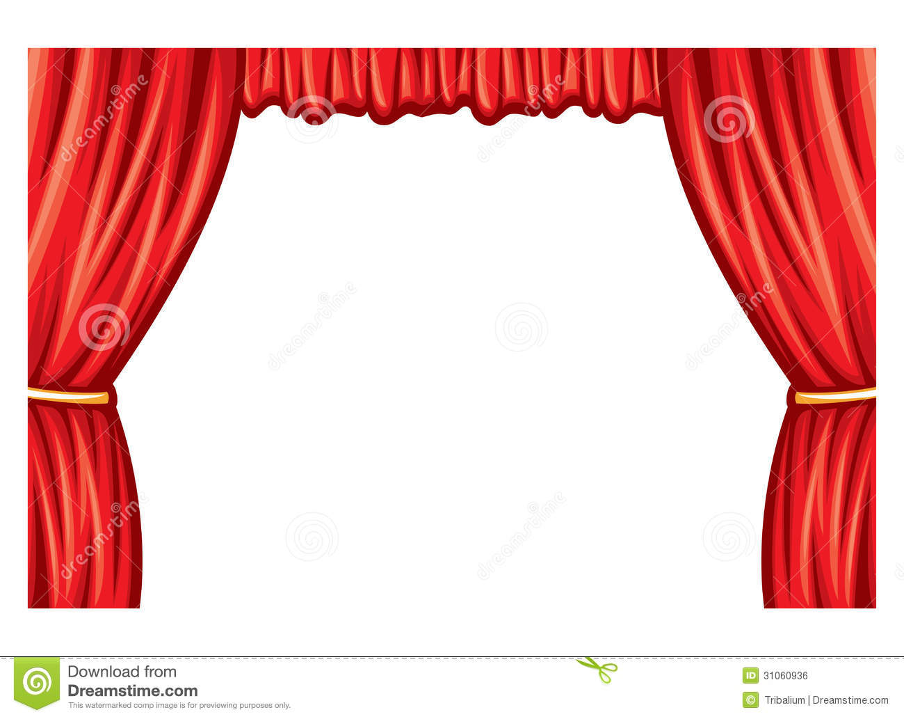 Curtain Tassel Stock Illustrations.
