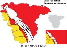 Voronezh Clip Art Vector Graphics. 3 Voronezh EPS clipart vector.
