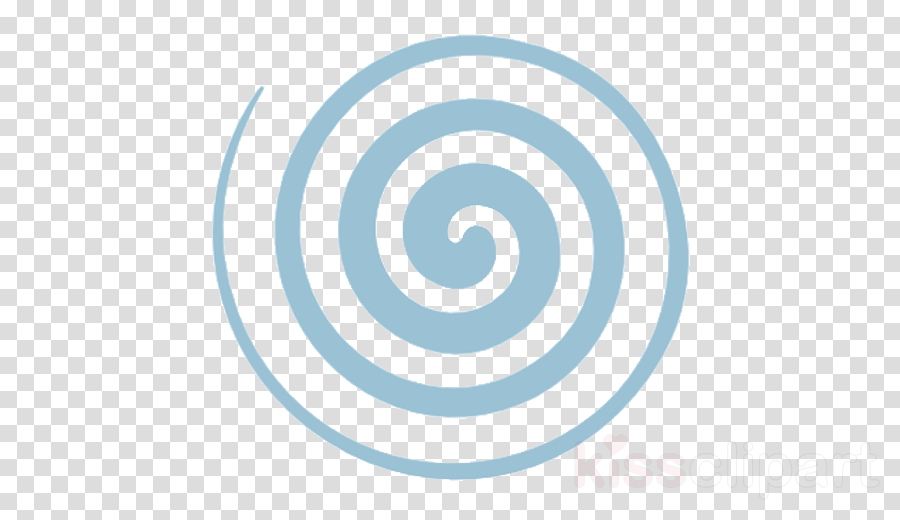 spiral aqua circle vortex clipart.