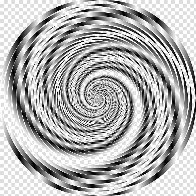 Black and white Vortex , others transparent background PNG.