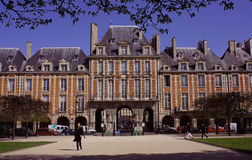 Place Des Vosges Stock Illustrations.