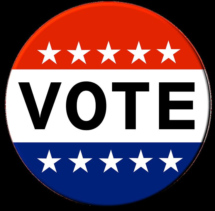 Vote Button Election.