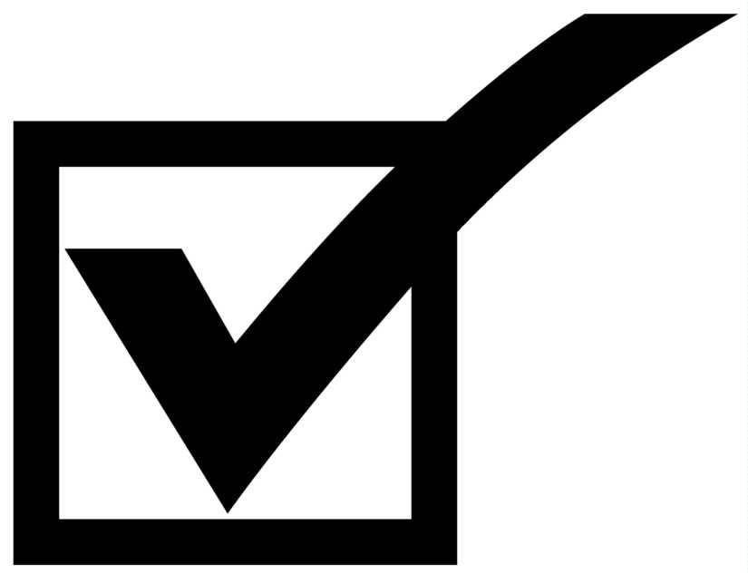 Checkmark Clipart.