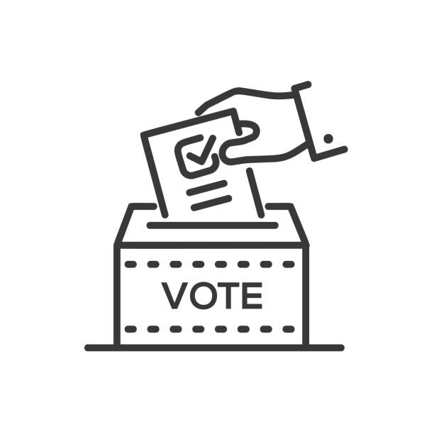 Best Ballot Box Illustrations, Royalty.