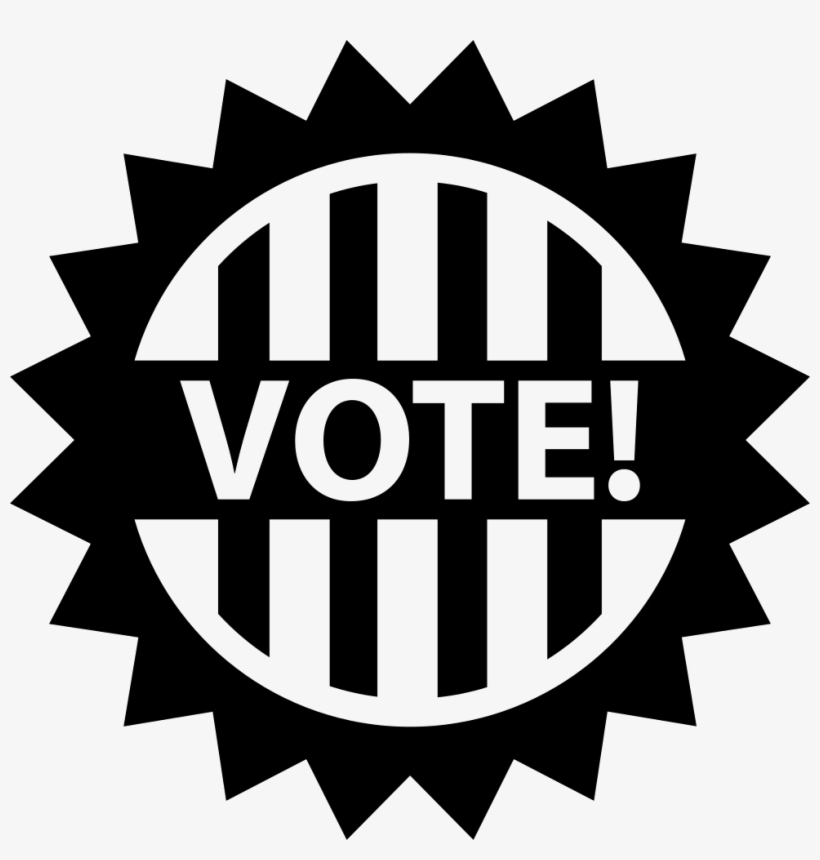 Png File Black And White Vote Clip Art Free Transparent PNG Creative.