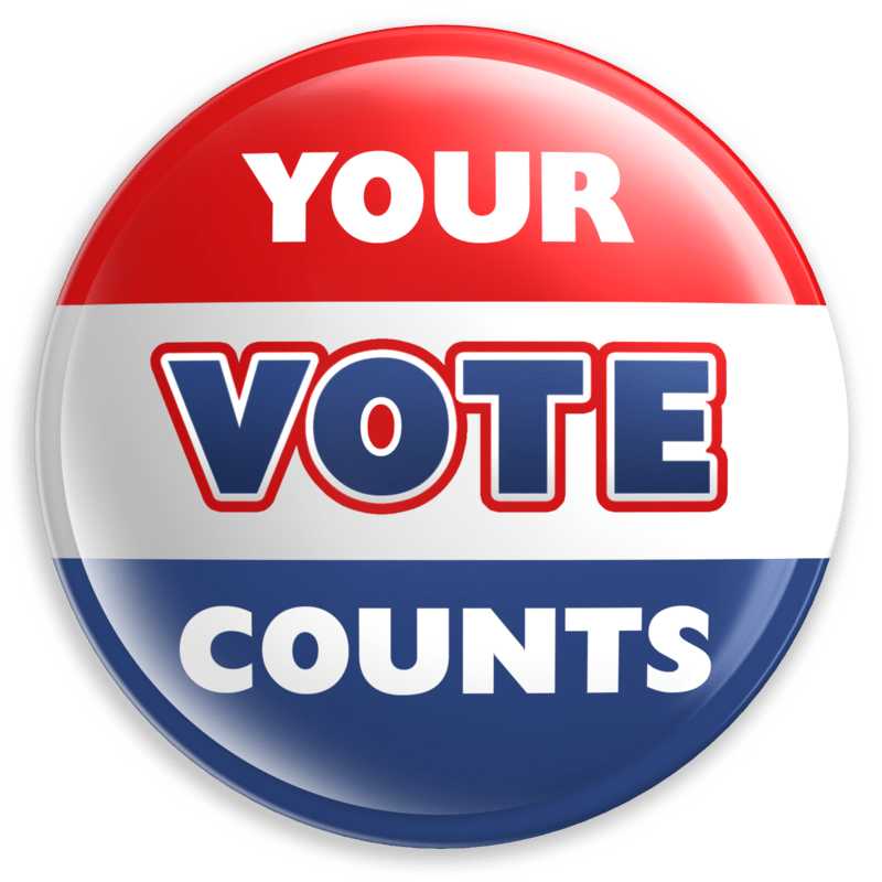 Your Vote Counts Icon transparent PNG.