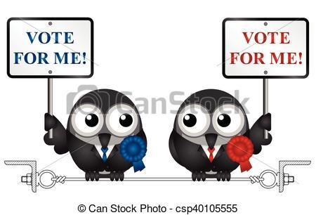 Vote for me politicians.