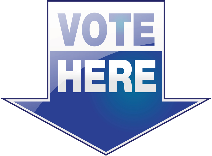 Vote Here Clip Art N4 free image.
