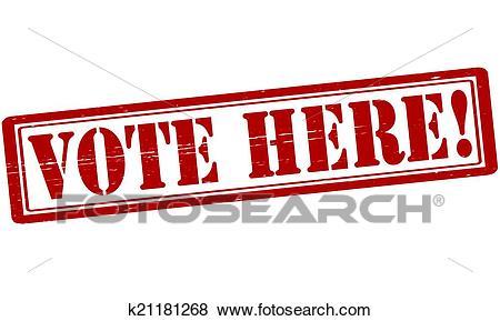 Vote here Clip Art.
