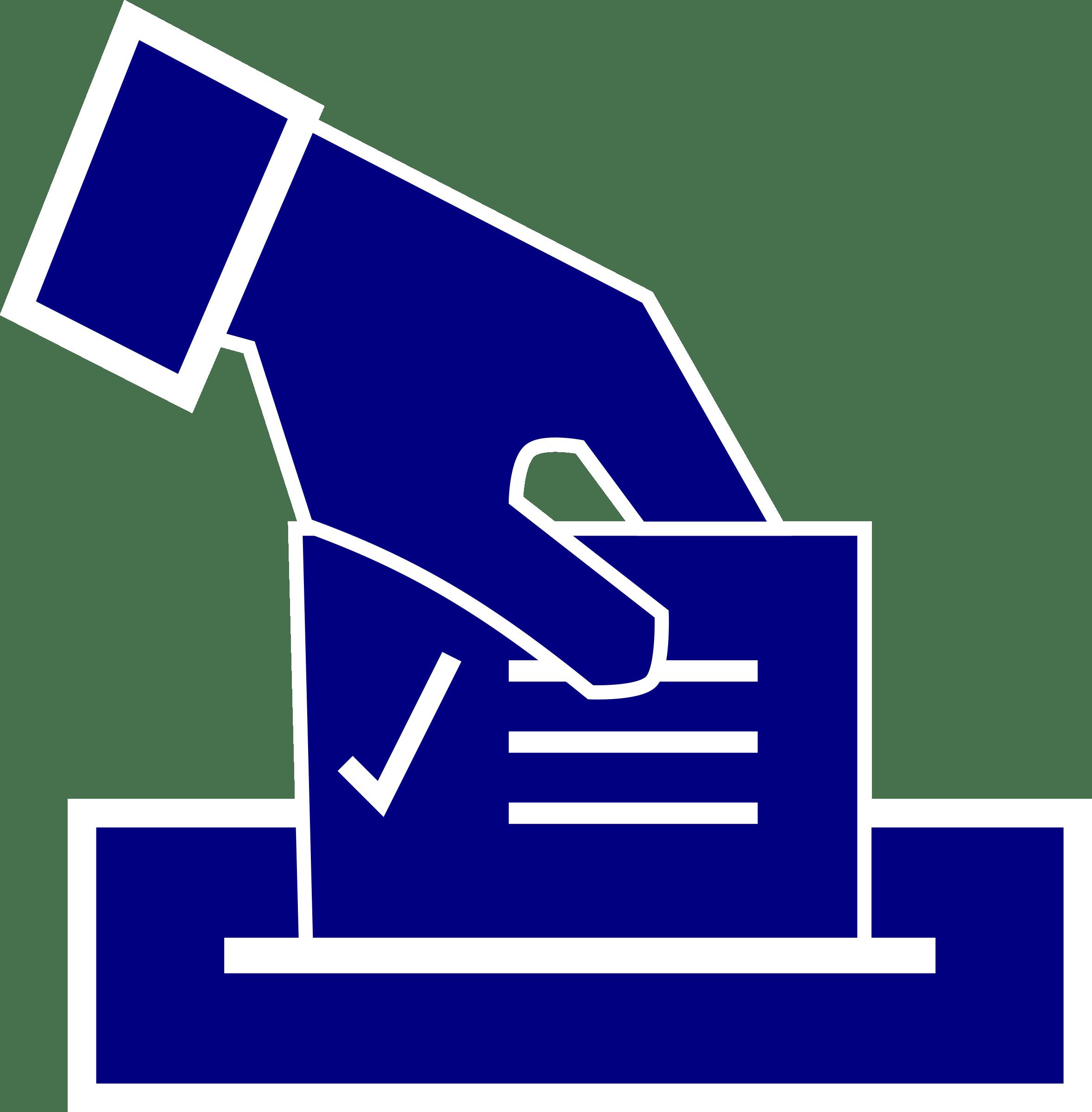 Vote Ballot Clipart transparent PNG.