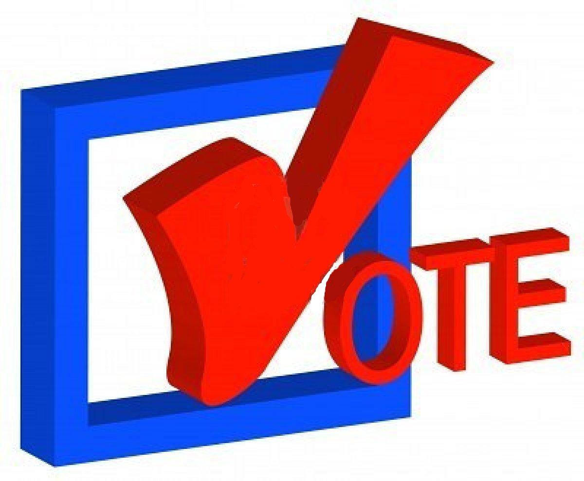 Vote Today Clipart.