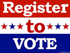 Free Clipart Voter Registration.