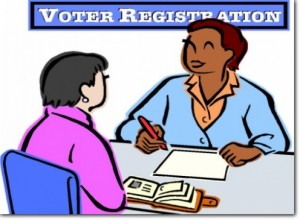 Voter Registration Month in.