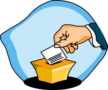 Counting Votes Clipart.