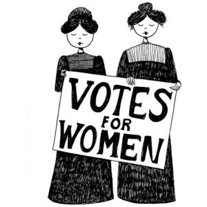 Image result for suffragette clipart.