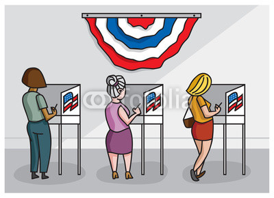 Voting booth clipart 7 » Clipart Station.