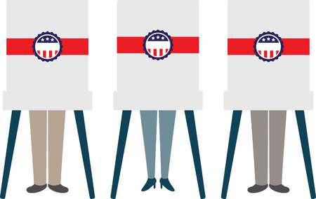 296 Voting Booth Stock Vector Illustration And Royalty Free Voting.