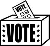 Vote Box Clipart.