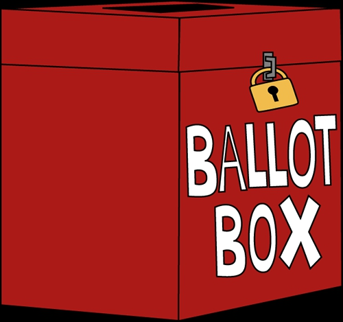 Voting Box Clipart#2132228.
