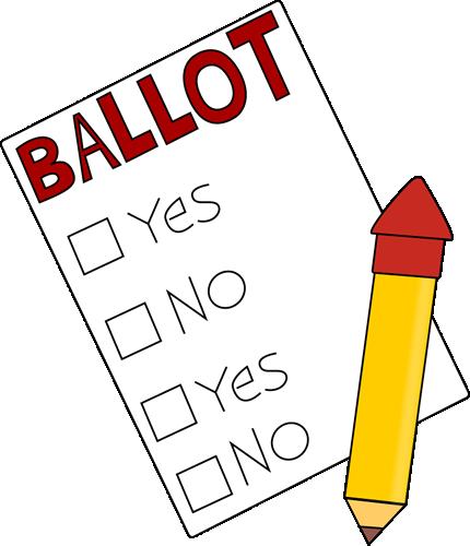Voting Clip Art.