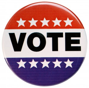 Voting Signs Clip Art.