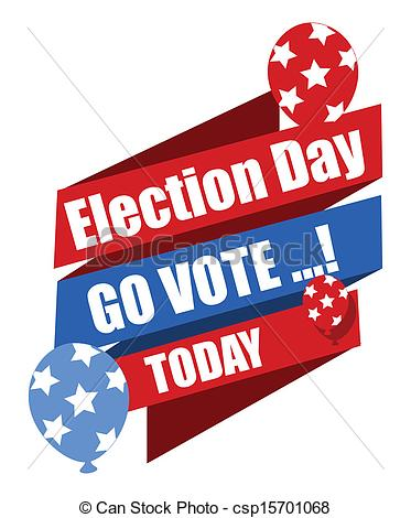 Get Out The Vote Clipart.