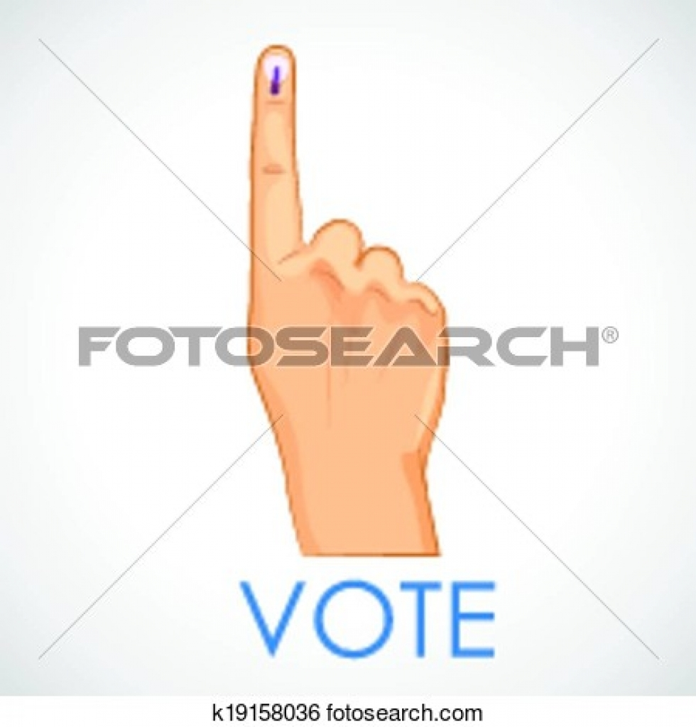 vote finger clipart vote finger clipart clip art of hand with.