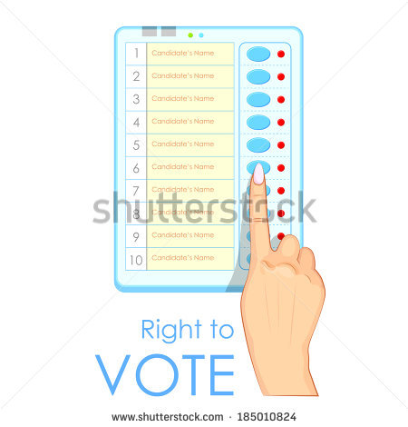Voting Machine Stock Images, Royalty.