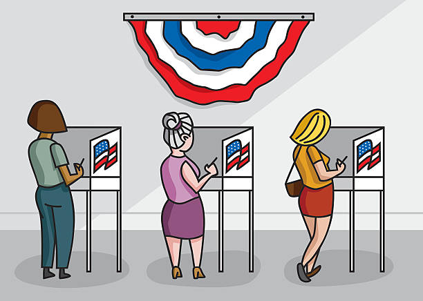 Best Voting Rights Illustrations, Royalty.