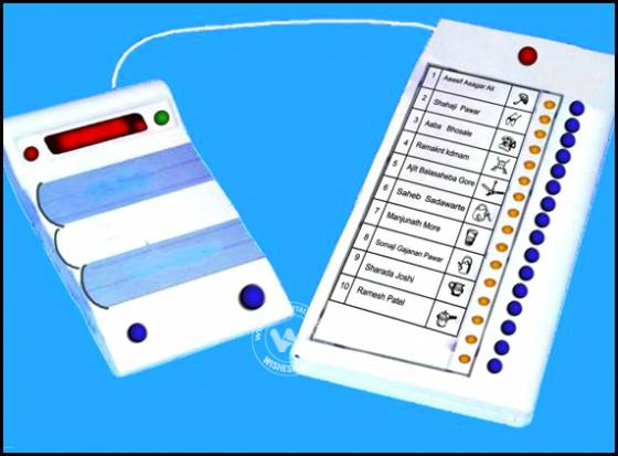 1637 Voting free clipart.