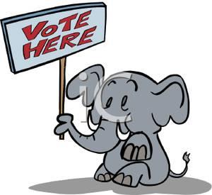 Voting Clipart.