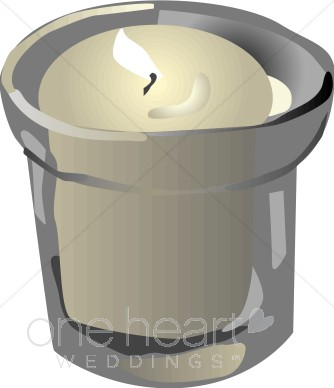 Clipart Votive Candle.