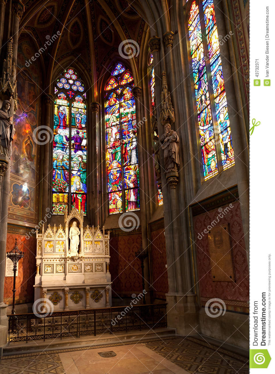 Chapel Votive Church, Vienna, Austria Stock Photo.