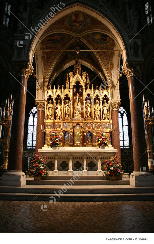 Votive Church In Vienna Image.