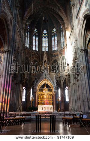 Church Altar Stock Photos, Royalty.